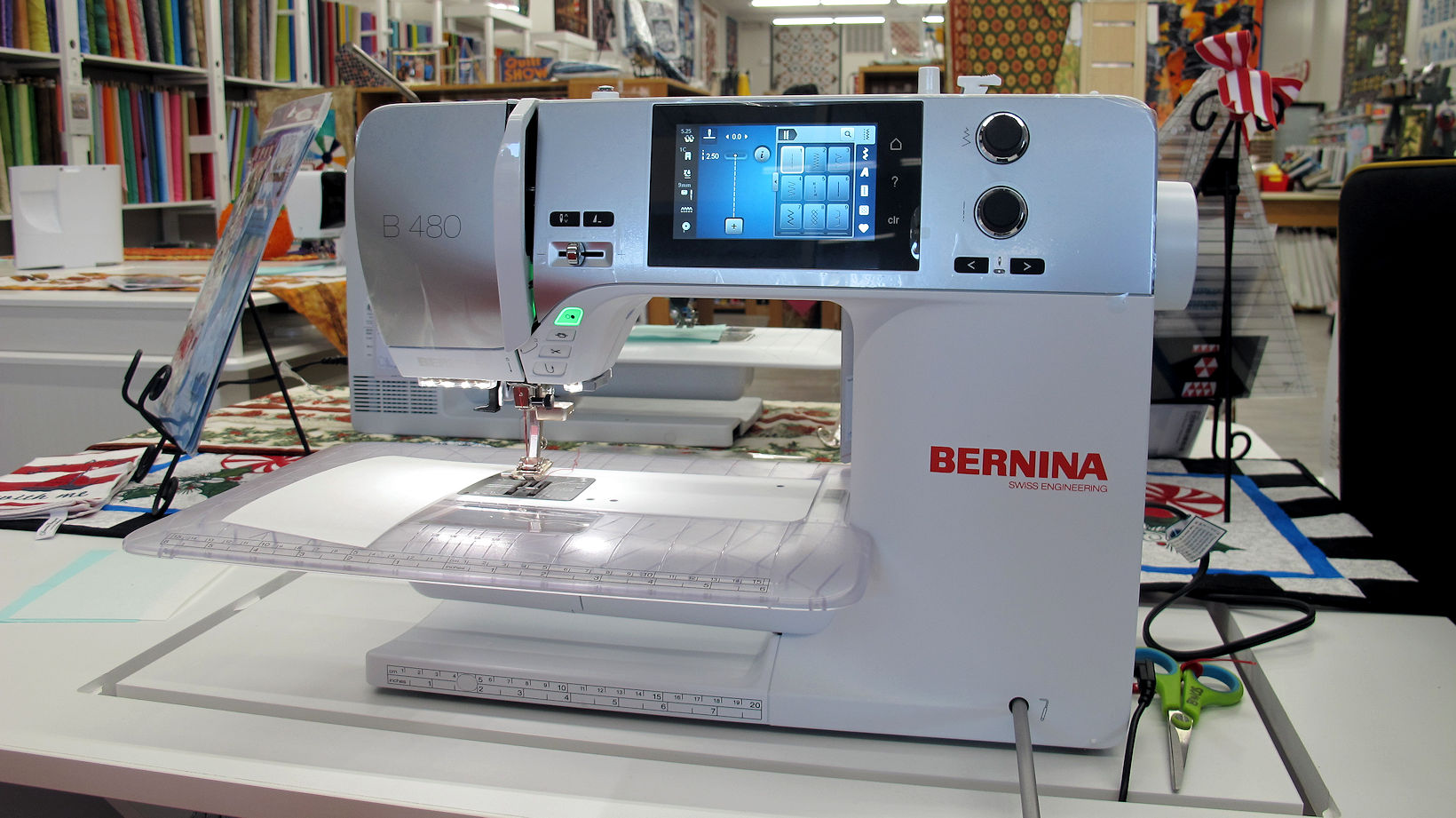 Machines at BERNINA World of Sewing Raleigh NC Machines Fabric Sales